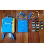 VTech V.Reader Animated Book Bundle Backpack Case Headset 11 Games Toy S... - $164.98