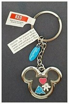 Disney Parks Keychain - Mickey Mouse Icon Charms Inside - $32.66