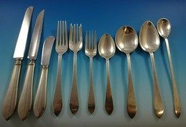 Faneuil by Tiffany & Co. Sterling Silver Flatware Set For 8 Service 83 Pieces - $9,950.00