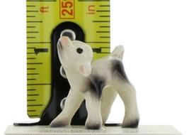 Hagen Renaker Miniature Cow Black and White Baby Calf Ceramic Figurine image 2
