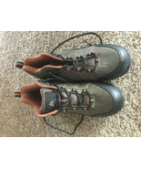 Mens Size 12 Ozark Trail Hiking Boots Tyrell Work Hunting Waterproof Leather - $37.40