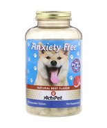 Actipet, Anxiety Free, Natural Beef Flavor, 90 Chewable Tablets - $19.00