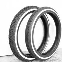 Honda CA160 CA175 A CD125 A CD175 FR&RR Wheel White Wall Tire New 3.00-16 - $155.00