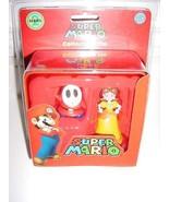 Super Mario Collector Tin Set Daisy & Shy Guy - $11.75