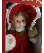 """Santa's Best Vintage Undercover Kids Animated Collectible Girl Doll 13"""".... - $26.72"""
