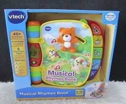 VTech Musical Rhymes Book, 40+ Songs, Melodies, Sounds & Phrases 6-36 Mos, NIB - $19.95