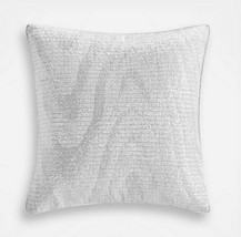 """Hotel Collection Moire White Sequin 18"""" x 18"""" Decorative Throw Pillow rt... - $48.34"""