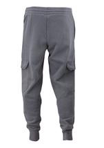 Men's Casual Fleece Sweatpants Sport Gym Workout Fitness Cargo Jogger Pants image 15