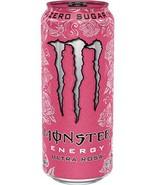 Brand New Monster Energy Ultra Fiesta & Ultra Rosa 16 ounce cans (Ultra ... - $42.56