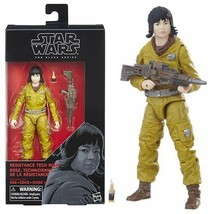 "RESISTANCE ROSE Star Wars 6"" Black Series The Last Jedi Wave 14 In stock - $9.75"