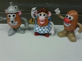 2011 Mr Potato Head Wizard of OZ Dorothy Tin Man Lion (ml) (g33) - $37.39