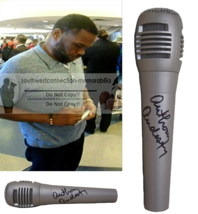 Anthony Anderson Barbershop Comedian Signed Autographed Microphone Mic P... - $66.49