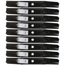 9 Blades fits Cub Cadet 942-05056A MTD 942-05056 RZT L54 RZT S54 MTD 742... - $91.11