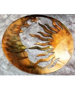 """The Moon, the Sun and the Stars Metal Wall Art--Genesis Series 22"""" - $48.99"""
