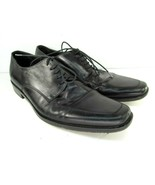 Hugo Boss Dress Shoes Black Derbys Mens Size 10 - $26.46
