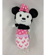 "Hallmark Itty Bittys Minnie Mouse Rattle Plush 6"" Disney Stuffed Animal Toy - $6.95"