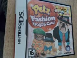 Nintendo DS Petz Fashion Dogz & Catz image 1