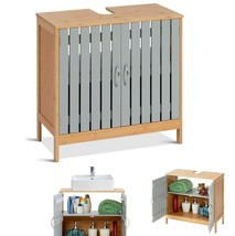 Bathroom Cabinet Under Sink Free Standing Floor Storage Cabinets Small B... - $59.06