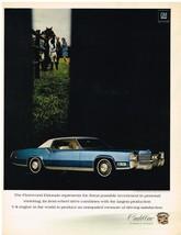 Vintage 1969 Magazine Ad Cadillac Fleetwood Eldorado Represents The Finest - $5.93