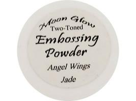 Moon Glow Two-Toned Embossing Powder Angel Wings Jade image 1