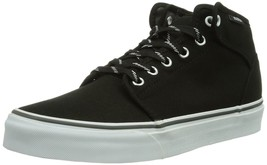 VANS SHOES 106 MID SPORT LACE BLACK MAGNET SZ Mens 8 SKATE SK8 VEGAN nib... - $46.71