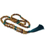 Tassel Necklace, Statement Necklace, Beaded Necklace, Long Tassel Neckla... - $30.40