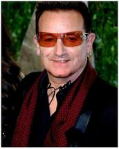 BONO -U2  Authentic Autographed Signed 8x10 Photo w/COA  #90091 - $95.00