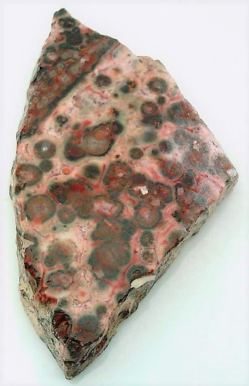Leopard Skin Jasper 2 Gemstone Slab Cabbing Rough