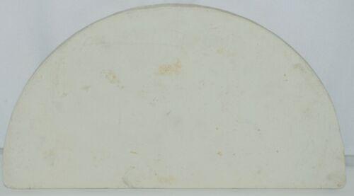 Unbranded Baking Stone Ceramic Color White Shape Half Moon