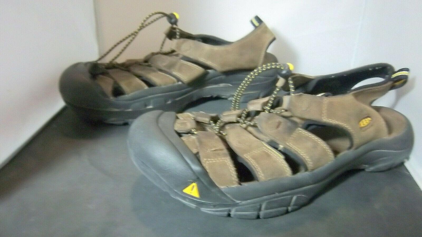 KEEN - Men's Brown Active Outdoor Sandals - SIZE 10.5