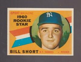 1960 Topps Baseball Card # 142 Bill Short New York Yankees NEAR MINT - $2.99