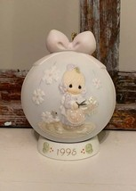 Vintage Precious Moments 1995 ornament w/stand - $14.85