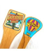 Odell Brewing Company Easy Street Wheat Wood Beer Tap Handles Set of 2 - £25.35 GBP