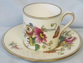 Wedgwood Posy Sprays Can Style Cup and Saucer set - $18.70