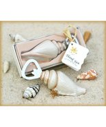Shore Memories Sea Shell Bottle Opener with Thank you Tag (pack of 10) - $53.35