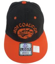 Loga Ball Cap unisex adult Iron Coalition MC Club embroidered dragon sna... - $16.19