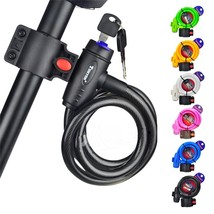 Tonyon Mountian Bike Bicycle Lock Safety Electric Cable Lock Steel Wire ... - $21.10