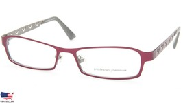 NEW PRODESIGN DENMARK 1228 c4121 RED EYEGLASSES FRAME 49-15-137 B24mm Japan - $84.13