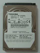 "New 120GB 2.5"" 9.5mm SATA Drive Toshiba MK1255GSX HDD2H26 Free USA Shipping - $48.95"