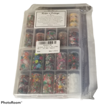 20 Rolls Nail Foils Christmas Holiday Nail Art Sticker DIY Slider Decal ... - $10.99