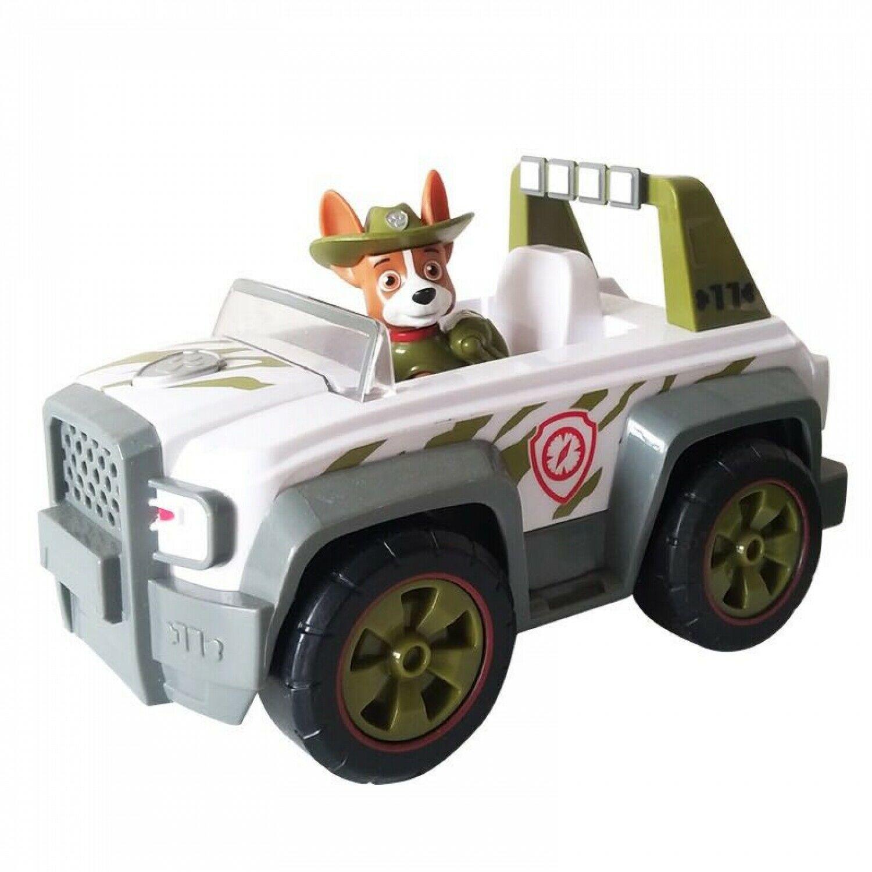 Genuine Paw Patrol Jungle Rescue Tracker's Jungle Cruiser Vehicle And Figure