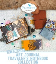 NEW. JEAN Journal Bundle. Art Journal Traveler's Notebook. Elizabeth Craft