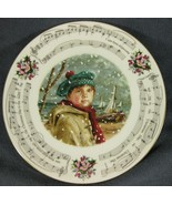 Royal Doulton I Saw Three Ships 1986 Christmas Carol Collector Plate - $21.95