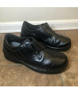 Orthofeet Acadia 810 Black Leather Orthotic Adjust Strap Women's 9 XX-Wi... - $49.99