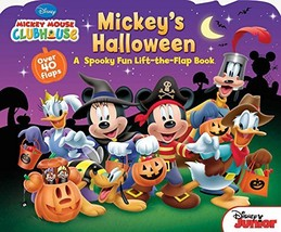 Mickey Mouse Clubhouse Mickey's Halloween [Board book] Disney Book Group... - $4.95