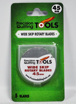 Precision Quilting Tools 45mm Rotary Blade 5 Count - $23.59