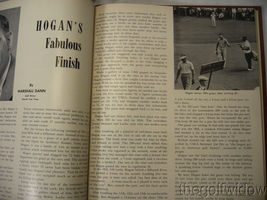 1951 Ryder Cup Pinehurst Program and Book of Golf by the PGA of America HC image 9