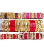 Indian Traditional Bollywood Bridal Chura Wedding Jewelry Fashion Metal ... - $16.50