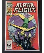 ALPHA FLIGHT #4  1983  Marvel comics - $1.85