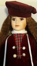 LIMITED COLLECTION Collectible Vintage Porcelain Doll with Ornament & St... - $46.98